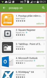 đăng ký cài đặt phần mềm quản lý quán cafe nhà hàng PosApp