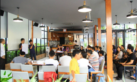 kinh doanh cafe pháp luật posapp