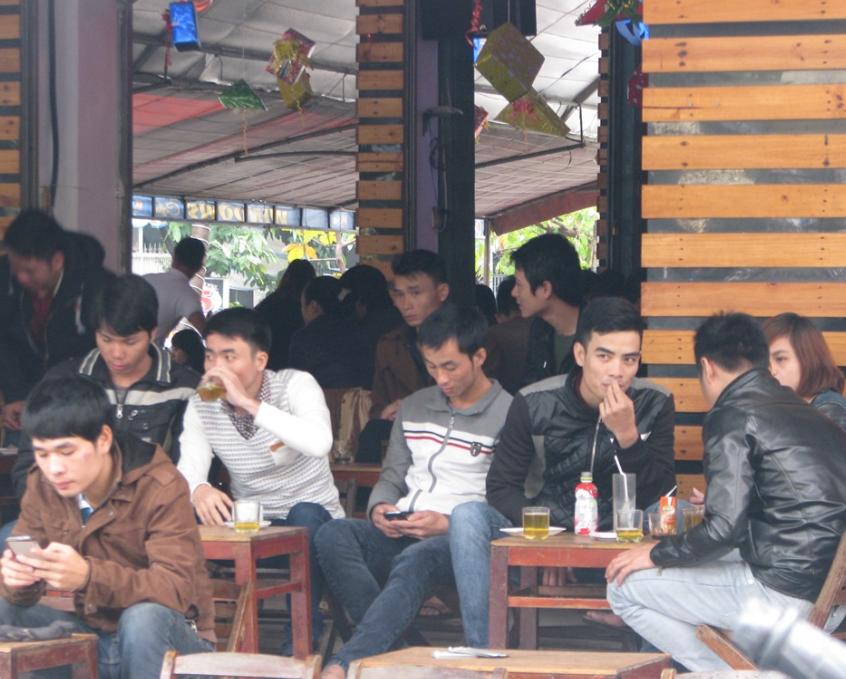 thiết kế quán cafe cóc