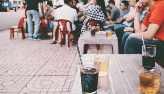 kinh doanh cafe bình dân cafe cóc