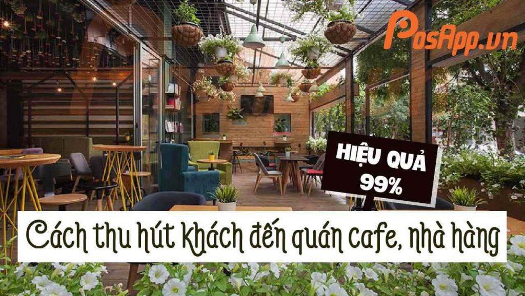thu hút khách đến quán cafe