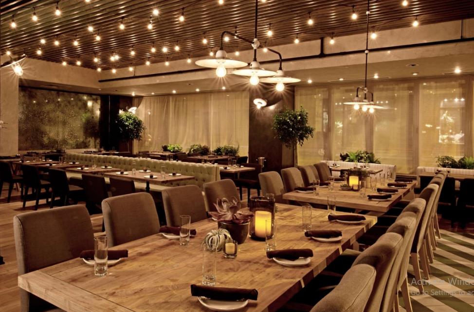 thiết kế nhà hàng quán ăn đẹp