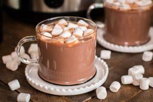 các thức uống thường gặp ở quán cafe hot chocolate