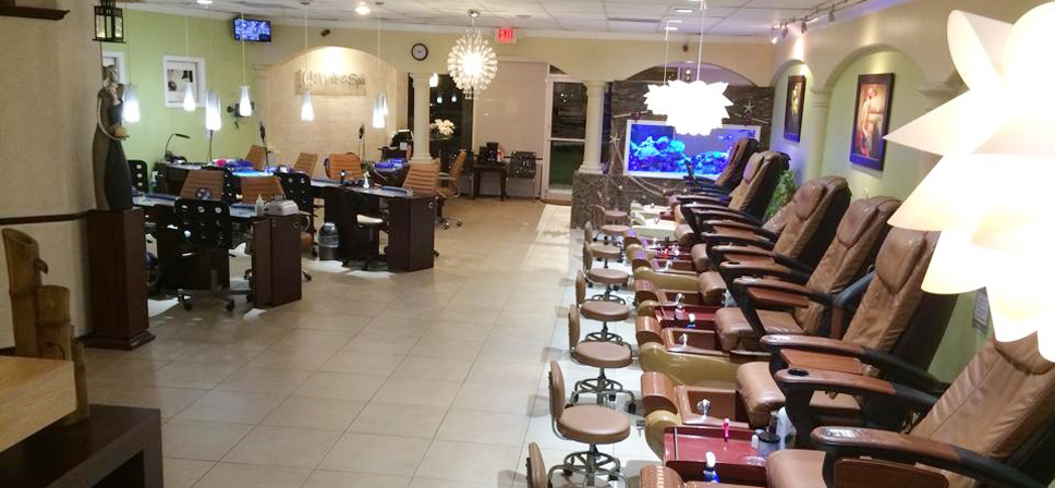 Ph n m m qu n l salon nail tr n i n tho i di ng for A q nail salon