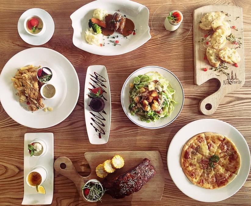 đầu tư hình ảnh món ăn trong nhà hàng