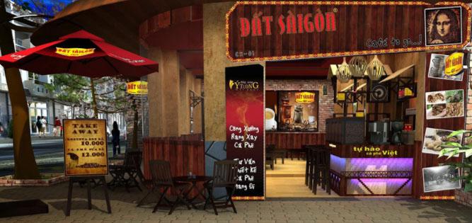 địa điểm thuê mặt bằng kinh doanh quán cafe