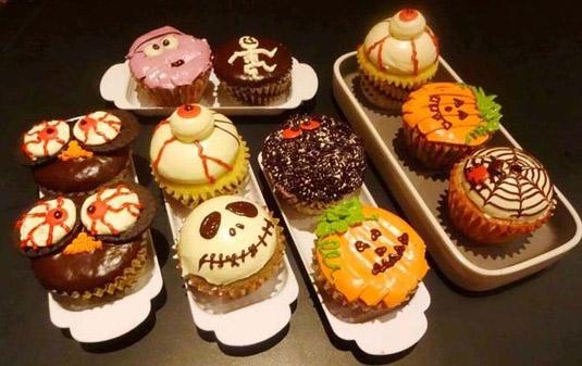 trang trí món ăn ngày halloween