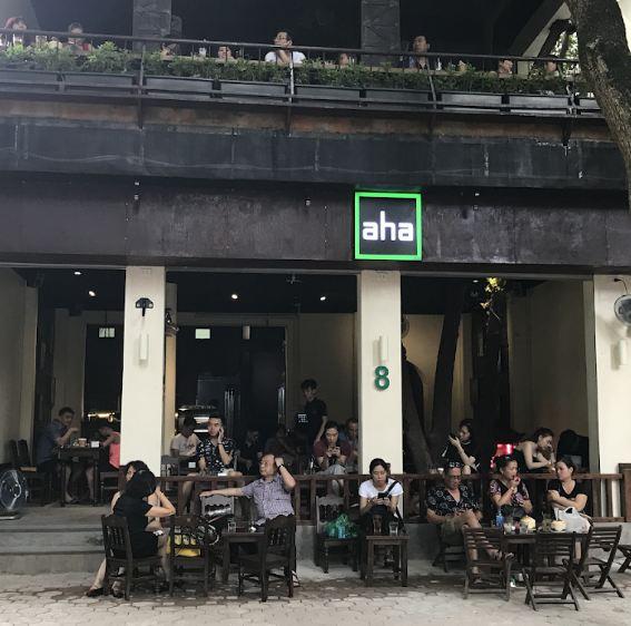 quán cafe aha