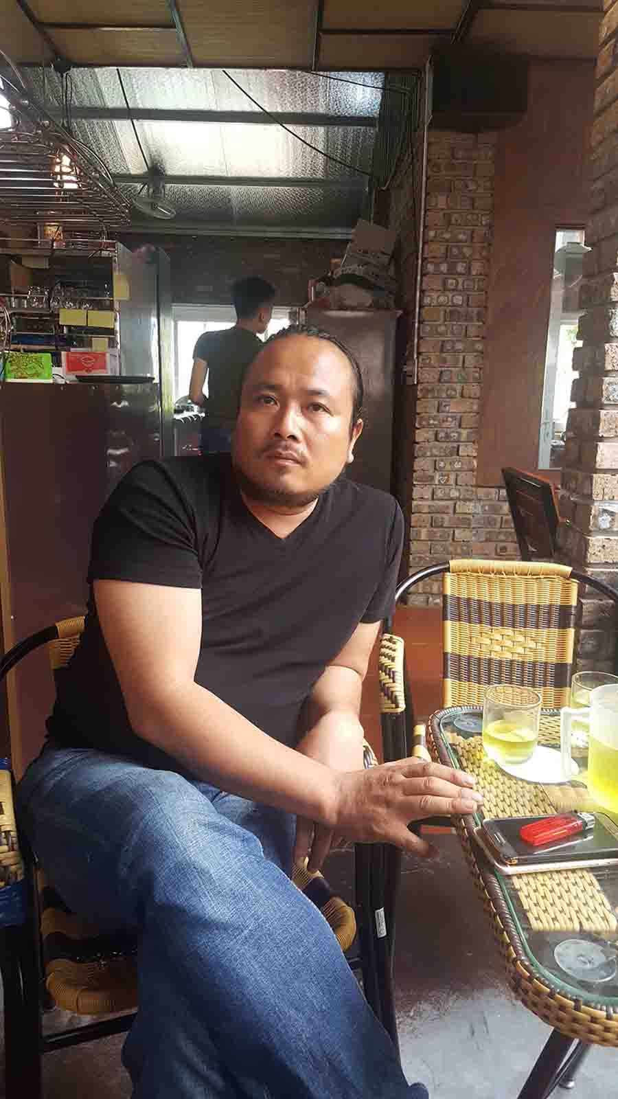 chủ quán cafe Hương Xưa