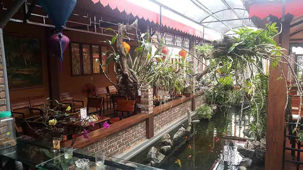 không gian quán cafe Hương Xưa