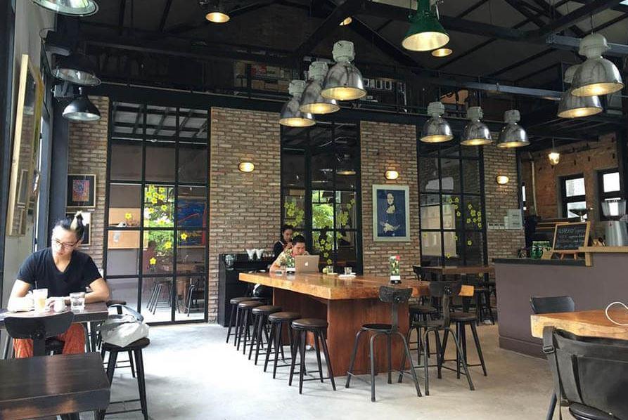 Mô hình quán cafe công nghệ