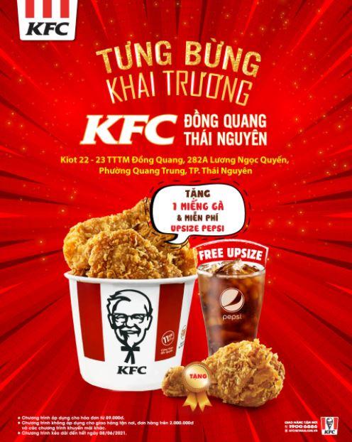 Ảnh khai trương KFC