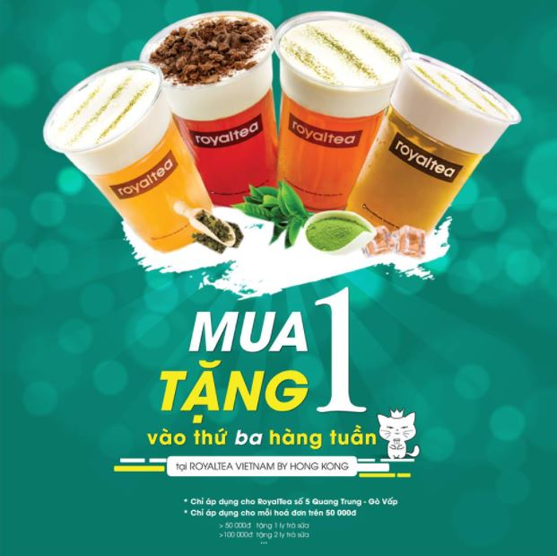 slogan trà sữa
