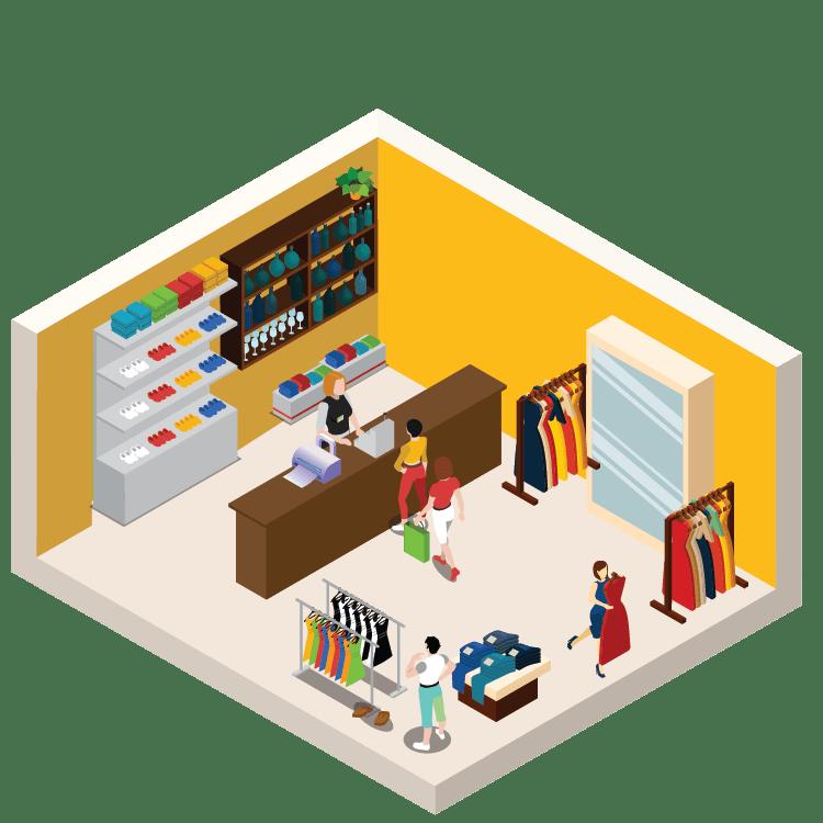 cửa hàng bán lẻ