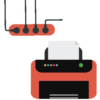 máy in hóa đơn lan