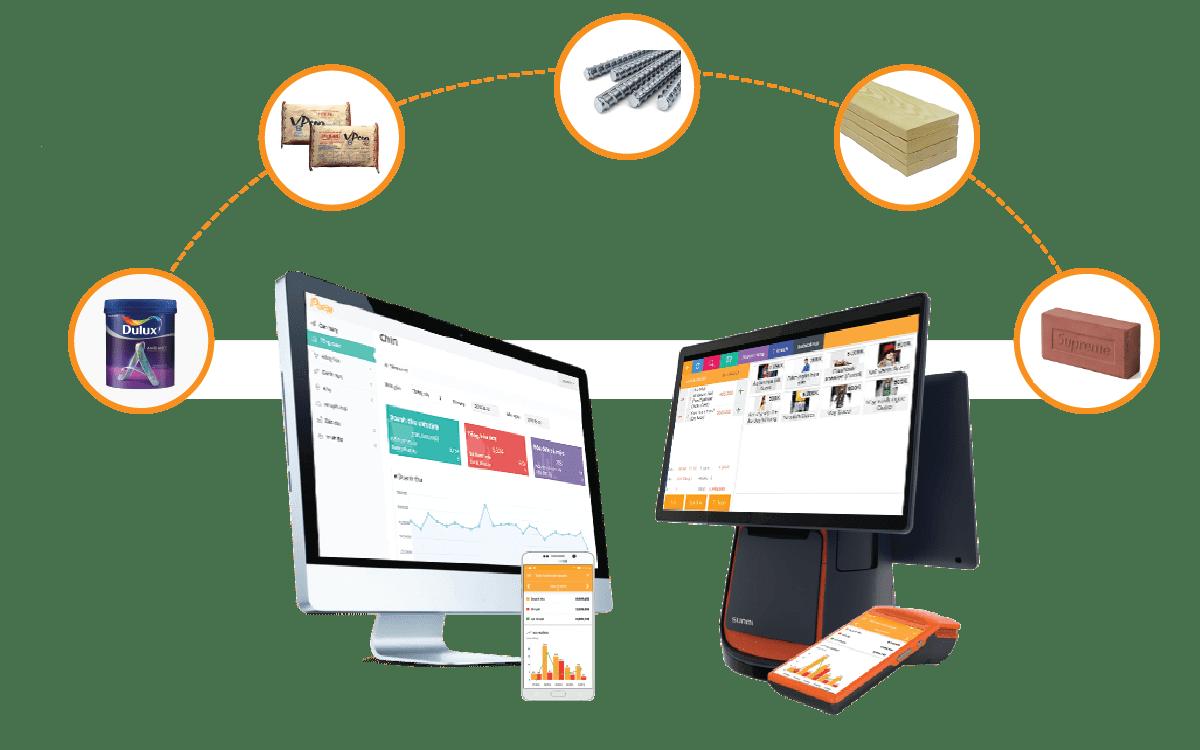 phần mềm bán hàng vật liệu xây dựng