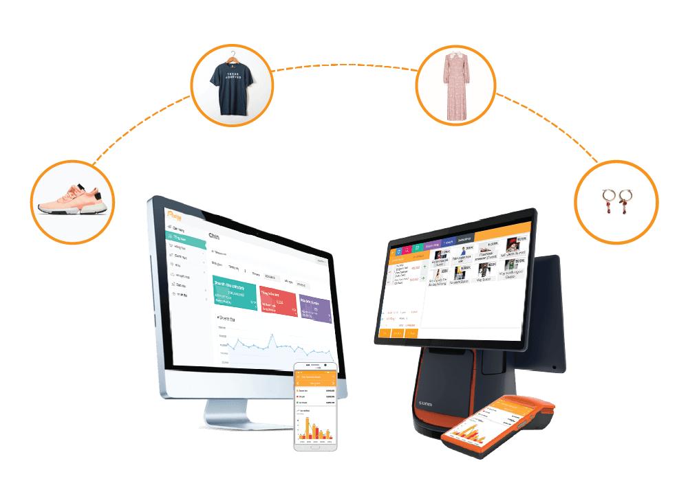 phần mềm quản lý shop thời trang