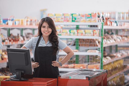 cửa hàng nông sản - thực phẩm