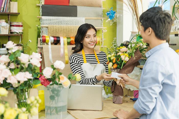 cửa hàng hoa - quà tặng