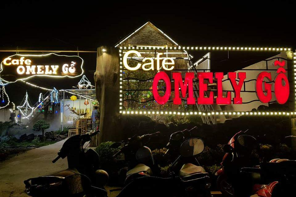 cafe Omely gỗ