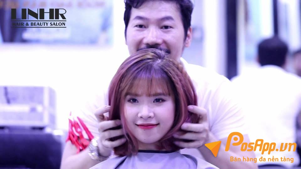 khách hàng LinhR salon