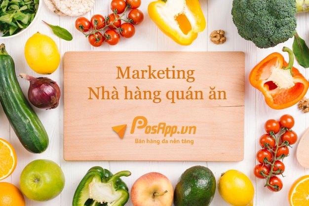 marketing nhà hàng quán ăn