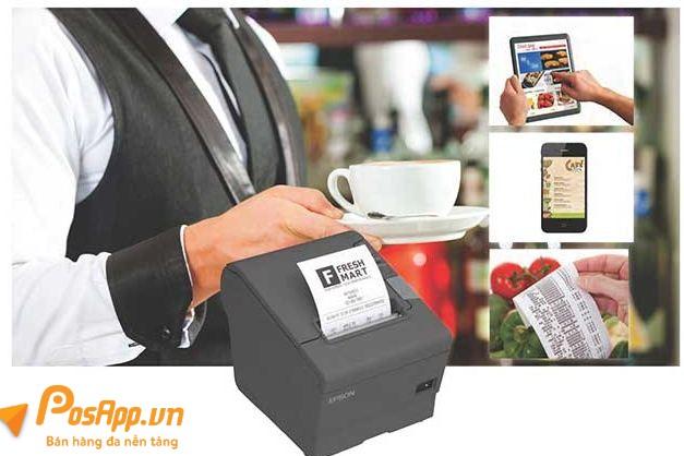 máy in dành cho quán cafe