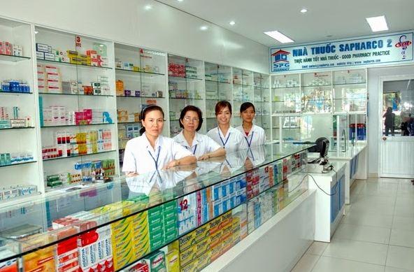 quầy thuốc đạt tiêu chuẩn GPP