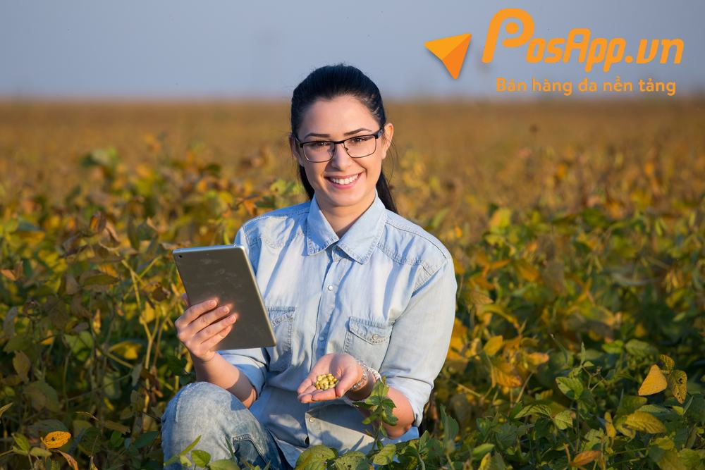 Phần mềm quản lý nông sản - thực phẩm sạch
