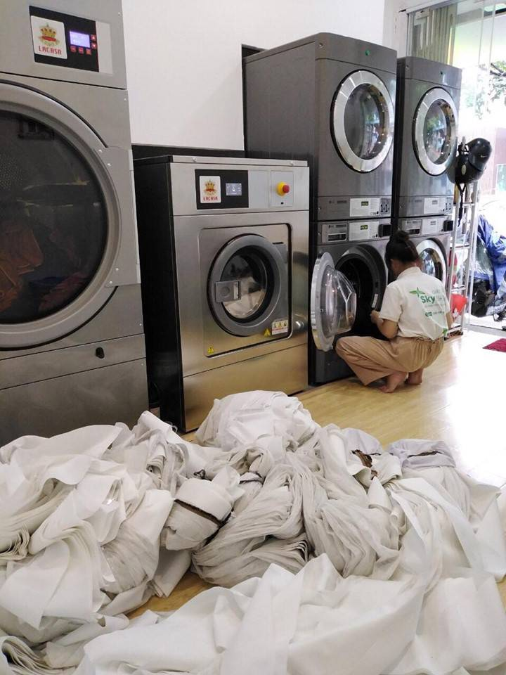 giặt là skywash