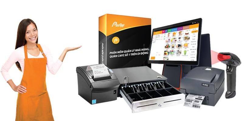 các thiết bị tương thích với phần mềm in hóa đơn