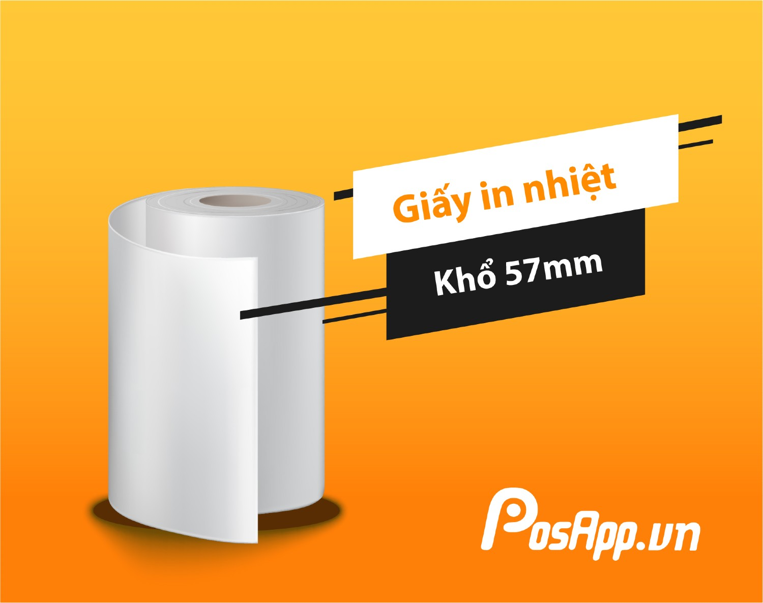 giấy in nhiệt K57