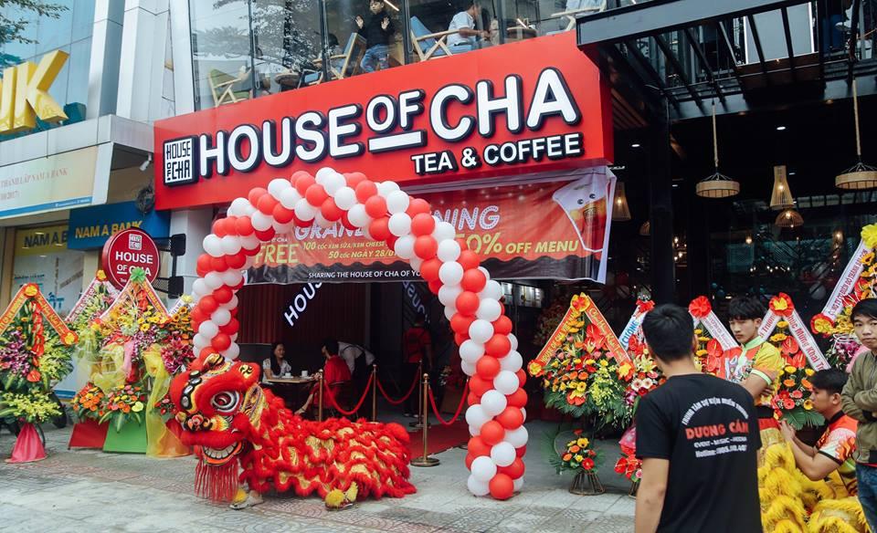 trà sữa house of cha