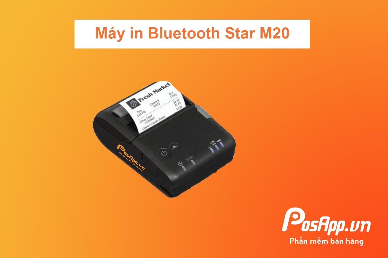 máy in bluetooth star m20