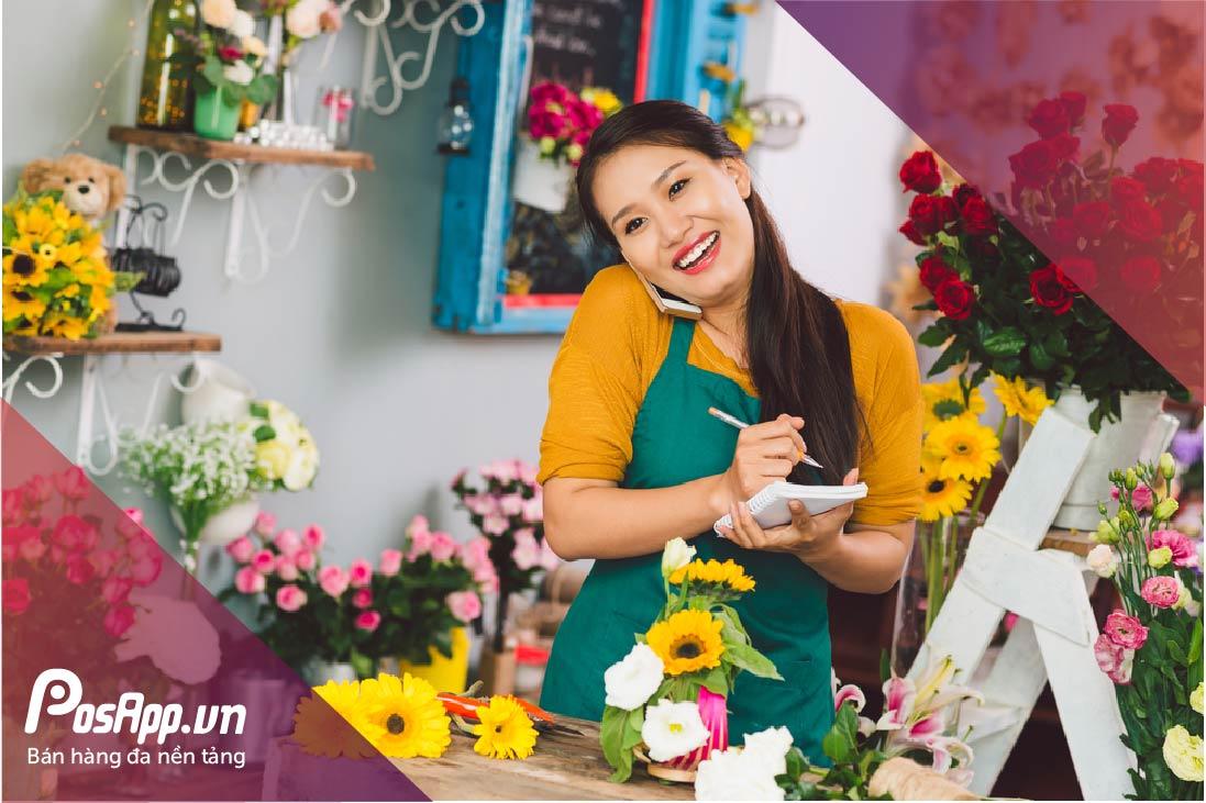 Phần mềm quản lý cửa hàng hoa
