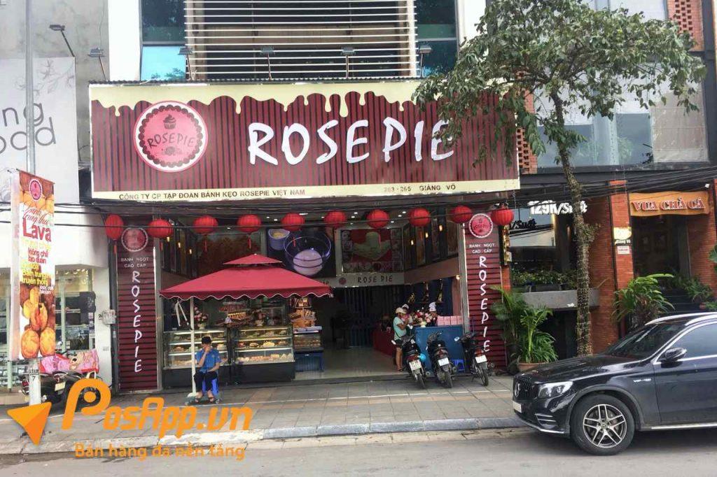 tiệm bánh ngọt rose pie