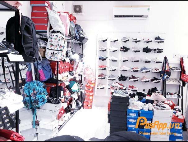 cửa hàng giày dép phụ kiện