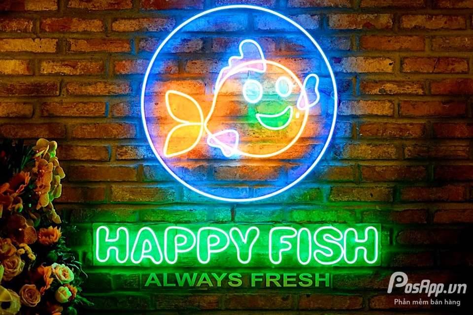 nhà hàng Nhật Bản Happy Fish