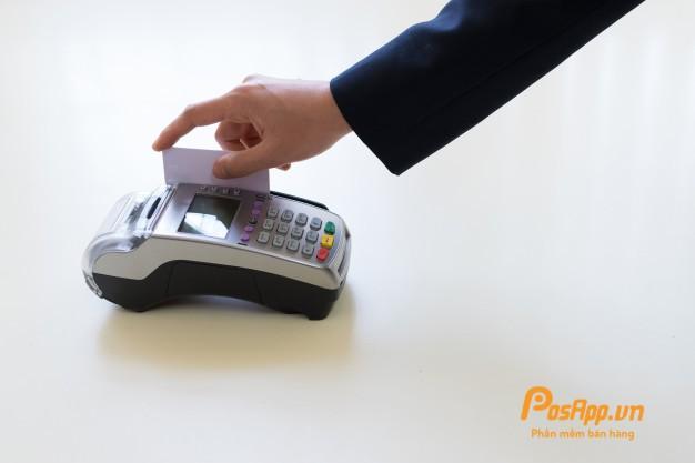 máy POS không dây thanh toán ngân hàng