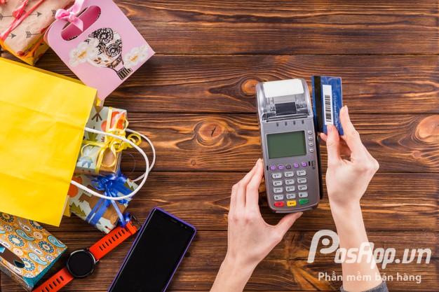 máy POS không dây thanh toán