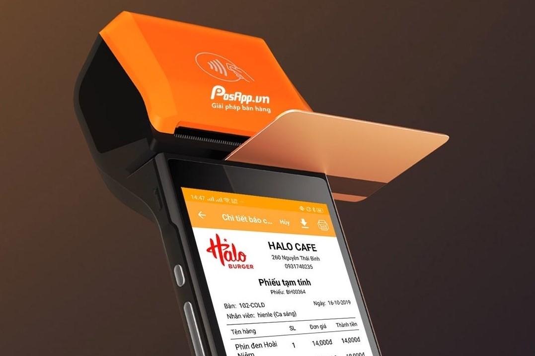 máy POS quẹt thẻ ngân hàng