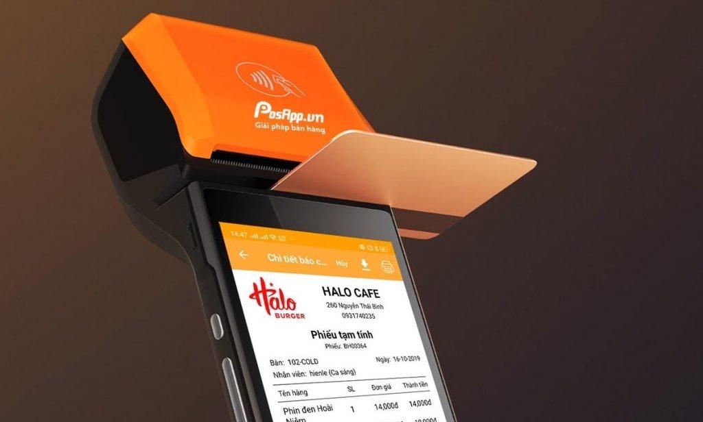 máy pos ngân hàng không dây