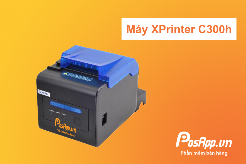 máy in hóa đơn xprinter C300H