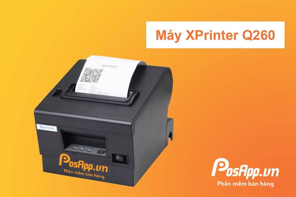 máy in hóa đơn xp Q260