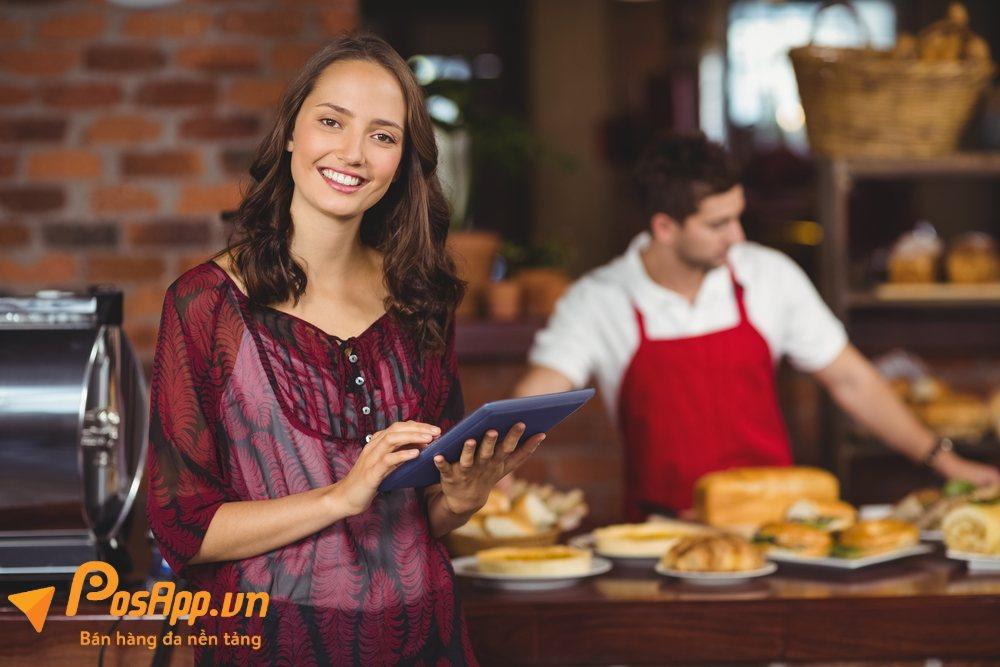 phần mềm quản lý của hàng fast food