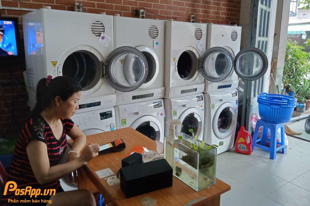 Tiệm giặt sấy