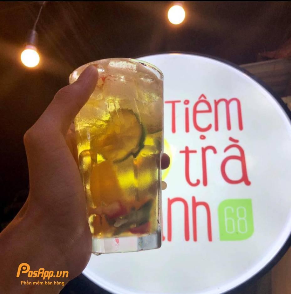 tiệm trà chanh 68 Hà Nội