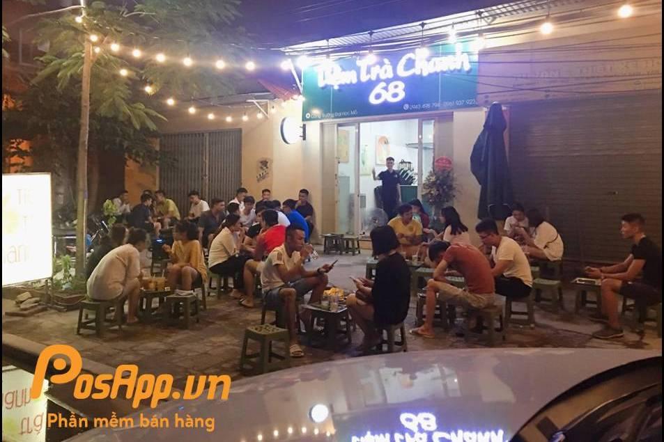 tiệm trà chanh 68