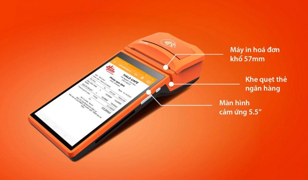 máy order quẹt thẻ posapp