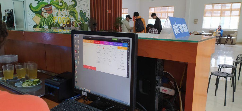 phần mềm quản lý căn tin trường đại học gtvt